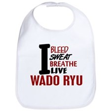 Bleed Sweat Breathe Wado Ryu Bib