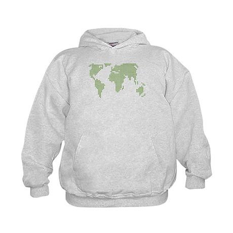 Green World Kids Hoodie