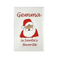 Gemma Christmas Rectangle Magnet (100 pack)