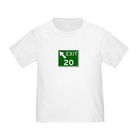 EXIT 20 Toddler T-Shirt