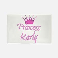 Princess Karly Rectangle Magnet