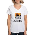 Scottish Terrier Women's V-Neck T-Shirt