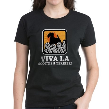 Scottish Terrier Women's Dark T-Shirt