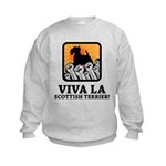 Scottish Terrier Kids Sweatshirt