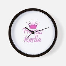 Princess Karlie Wall Clock