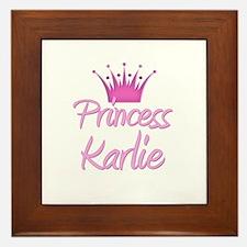 Princess Karlie Framed Tile