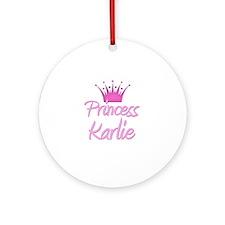 Princess Karlie Ornament (Round)