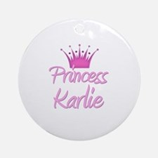 Princess Karlie Ornament (Round)