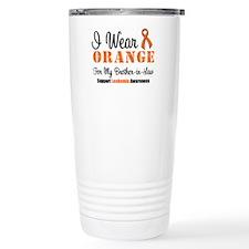 I Wear Orange Brother-in-Law Travel Mug