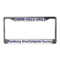 DACS URL License Plate Frame