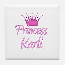 Princess Karli Tile Coaster