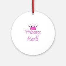 Princess Karli Ornament (Round)