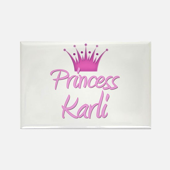 Princess Karli Rectangle Magnet
