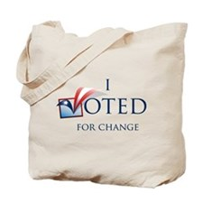 I Voted Tote Bag