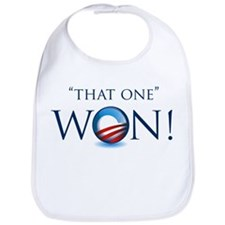 That One Won! Bib