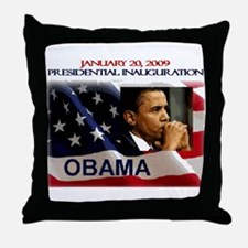 Presidential inauguration 2009 Throw Pillow