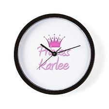 Princess Karlee Wall Clock