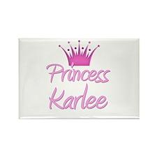 Princess Karlee Rectangle Magnet