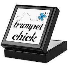 Cute Trumpet Chick Keepsake Box