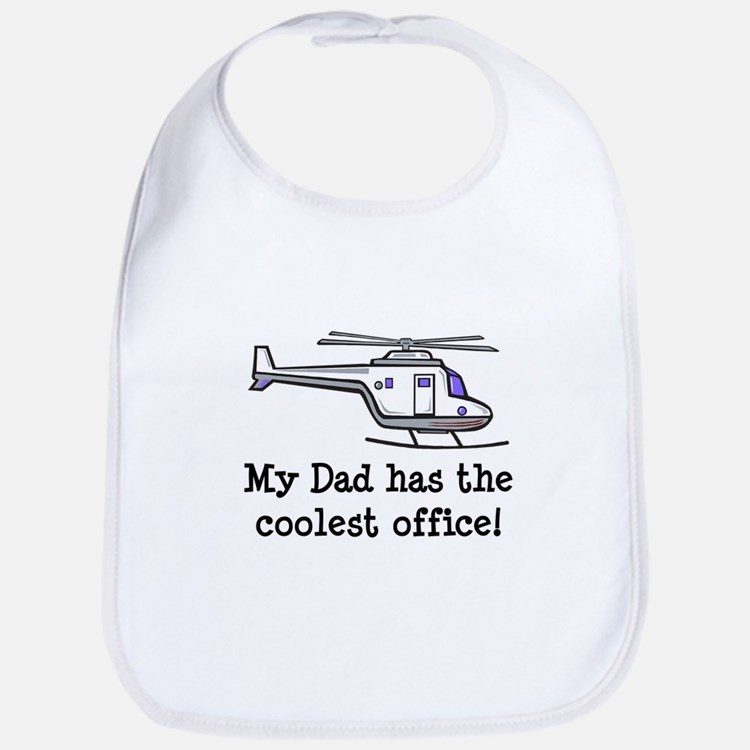 Dad's Helicopter Bib