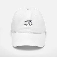 Dad's Helicopter Baseball Baseball Cap