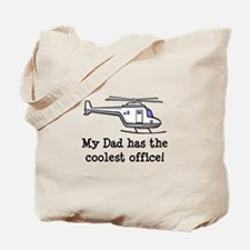 Dad's Helicopter Tote Bag