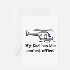 Dad's Helicopter Greeting Card