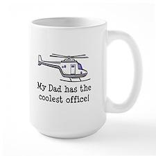Dad's Helicopter Mug