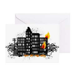 Hot In The City Greeting Cards (Pk of 20)