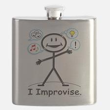 Improve comedy stick figure Flask