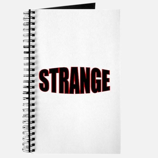 """""""STRANGE"""" Journal"""