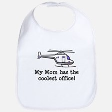 Mom's Helicopter Bib