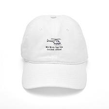 Mom's Helicopter Baseball Cap