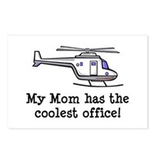 Mom's Helicopter Postcards (Package of 8)