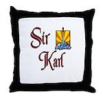 Sir Karl Throw Pillow