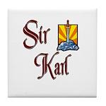 Sir Karl Tile Coaster