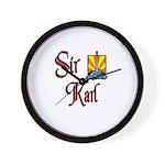Sir Karl Wall Clock