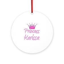 Princess Karissa Ornament (Round)
