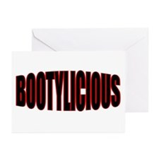 """""""BOOTYLICIOUS"""" Greeting Cards (Pk of 10)"""