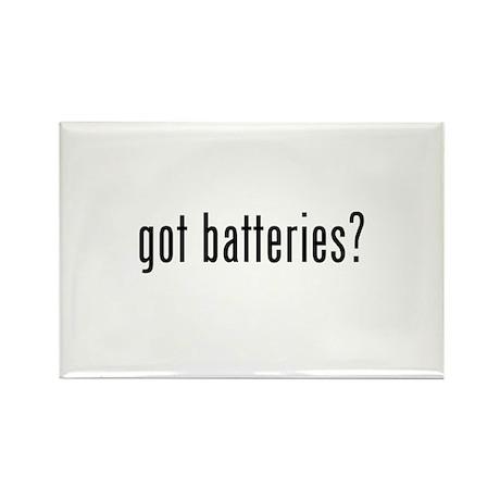 got batteries? Rectangle Magnet (10 pack)