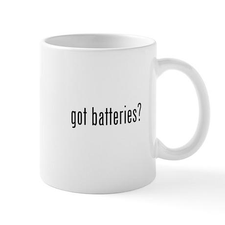got batteries? Mug