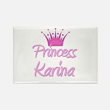Princess Karina Rectangle Magnet