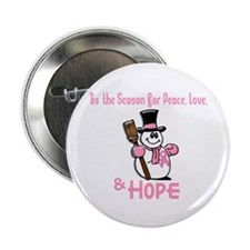 """Holiday Snowman 1.2 2.25"""" Button (100 pack)"""