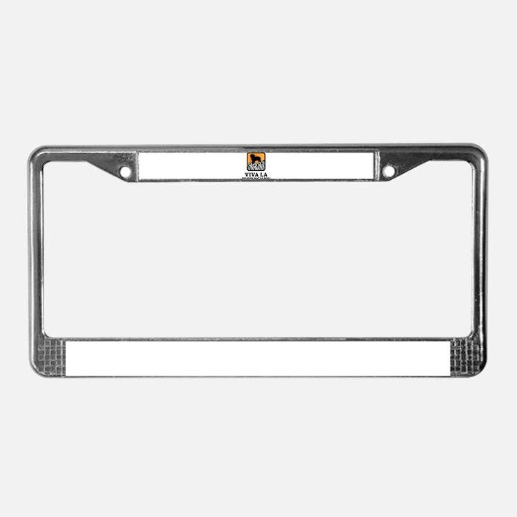 Spanish Water Dog License Plate Frame