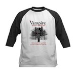 Vampire Romance Book Club Kids Baseball Jersey