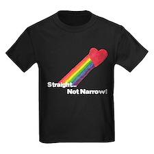"""""""Straight Not Narrow"""" T"""