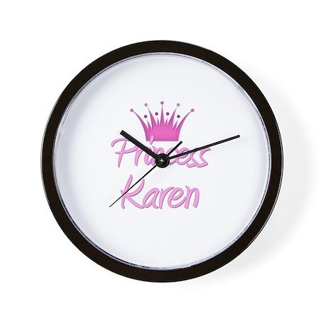 Princess Karen Wall Clock