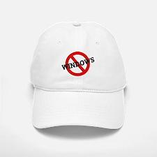 Anti Windows Baseball Baseball Cap
