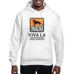 Weimaraner Long-Coated Hooded Sweatshirt