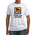 Weimaraner Long-Coated Fitted T-Shirt